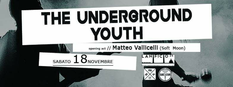 Photo of The Underground Youth in concerto a Napoli