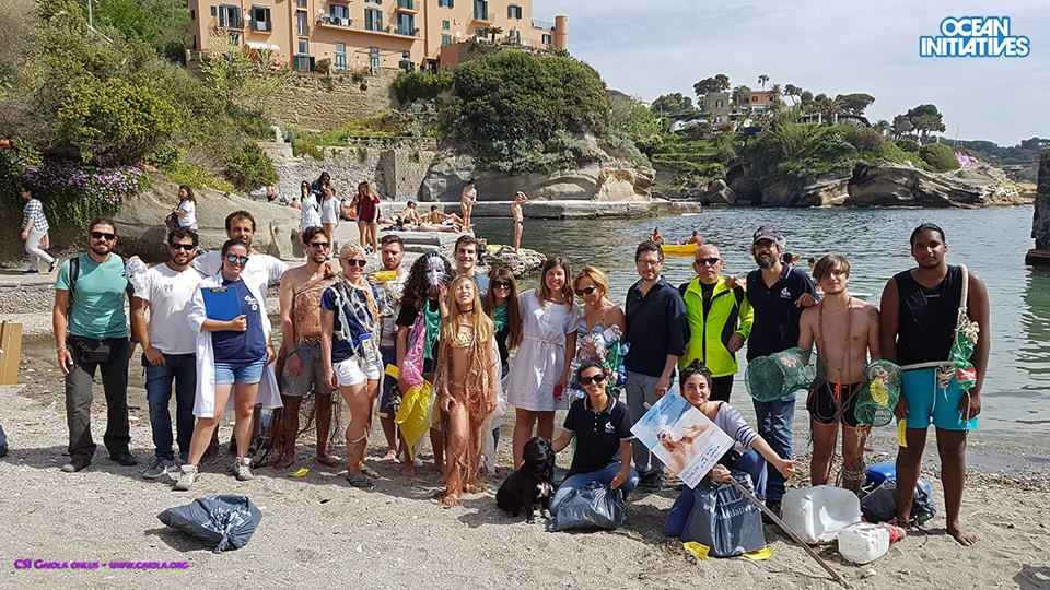 Photo of Un flash mob per ripulire l'area marina protetta della Gaiola