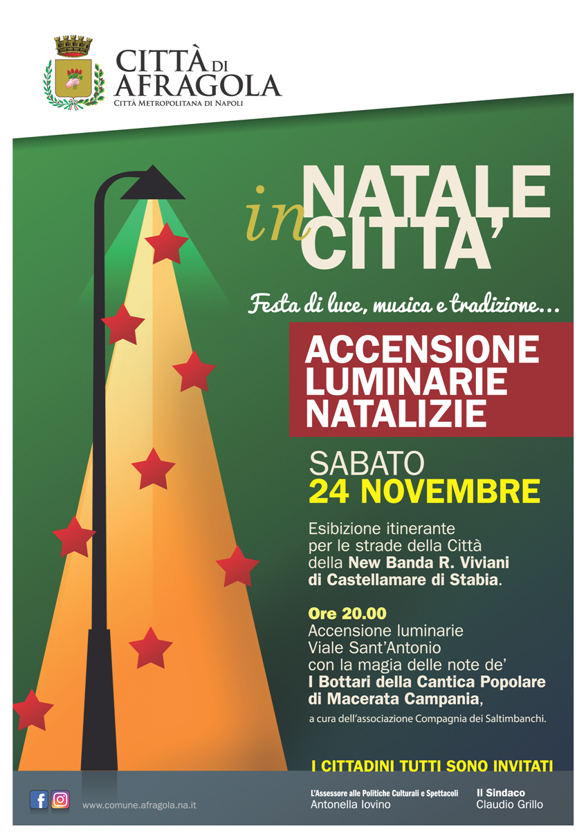 Photo of Natale 2018, accensione delle luci ad Afragola