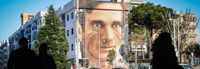 Photo of Murales a Scampia di Pasolini