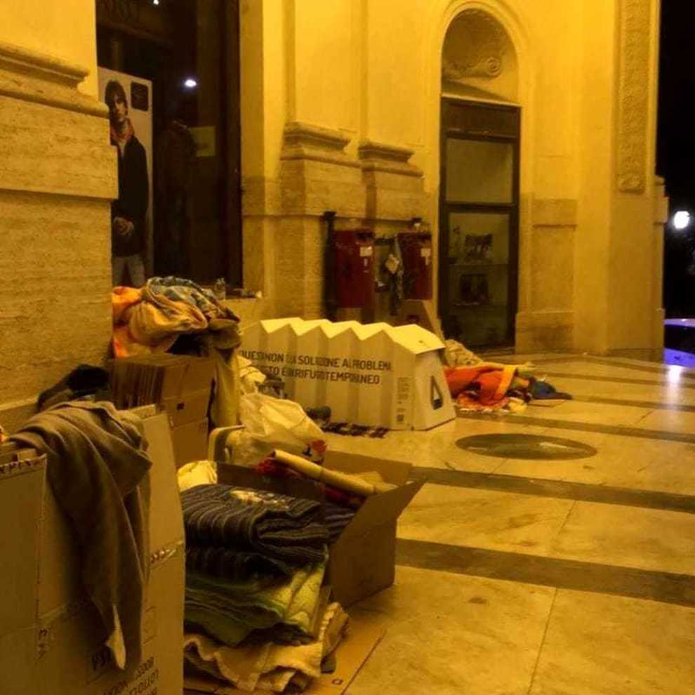 napoli-clochard-trovato-morto